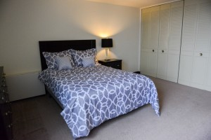 Furnished One Bedroom with Large Closets