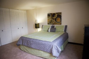 Furnished One Bedroom with Spacious Closets